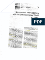 Government and Citizens in a Globally Interconnected World of States