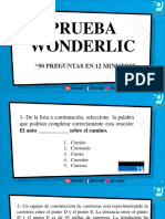 Prueba Wonderlic