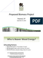 Beaver Wood Energy Power Point Pownal