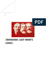 Marxism Lazy Man's Logic