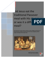 Paper on the Passover