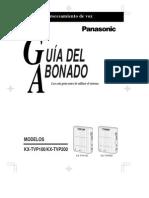 GUIA DEL ABONADO KX-TVP100  KX-TVP200