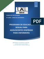 programa de educación sexual para adolescentes