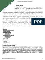 Denominación Cristiana - Wikipedia, La Enciclopedia Libre