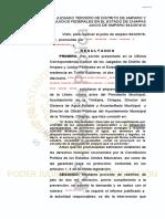 Sentencia Amparo Indirecto 843_2018