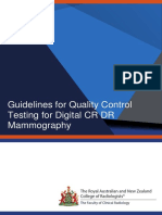 Guidelines for Quality Control Testing for Digital CR DR Mammography V4