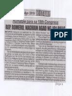 Hataw, July 16, 2019, Humataw para sa 18th Congress Rep. Romero naghain agad ng 101 bills.pdf
