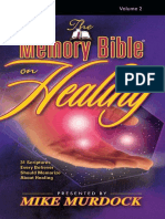 The Memory Bible on Healing, Vo - Mike Murdock