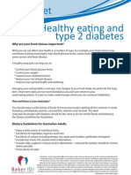 Healthy Eating and Type 2 Diabetes