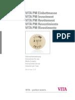 VITA 1414M PM Einbettmasse VA de V02 Screen ML