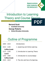 Introduction to Learning Theory and Course Design Presentation (1)