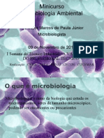 Minicurso microbiologia ambiental