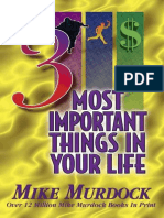 The 3 Most Important Things in  - Mike Murdock.epub