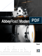 Abbey Road Modern Drums Manual English.pdf