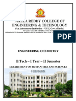 Engineering Chemistry Digital Notes R-18-SEM-2