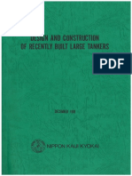 DESIGN AND CONSTRUCTION OF RECENTLY BUILT LARGE TANKERS - NKK 1998