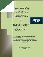 iniciación a la investigación educativa