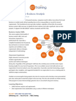Essential Skills for Business Analysis v8.4