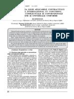 22_29_Determinarea legii aplicabile contractului comercial  international  cu  concursul  normelor conflictuale si conventionale europene si universale uniforme.pdf