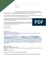Spokane City Hall E-mail Exchange