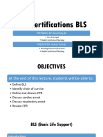 CPR Certification BLS (FUNDAMENTALS OF NURSING)