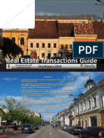 Real Estate Transactions Guide Cluj-Napoca 2018 [EN]