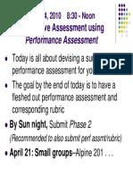 Session 11 Perf Assmt(14apr10)