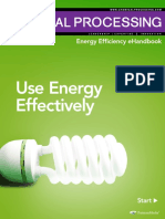 energy effective usage