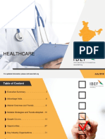 hospital market in india