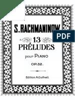 Rachmaninov 13 Preludes