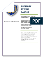 ICAHST Company Profile