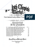 Chopin Mazurkas
