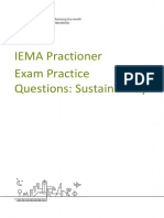 IEMA Pract  Exam Practice Questions Sustainability Jan 2017.docx