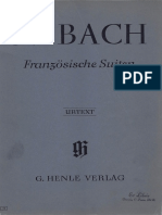 Bach French Suites Henle