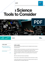 5 Data Science Tools to Consider