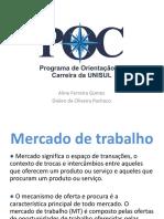 Mercado de Trabalho Poc Projetos Exensao Tb