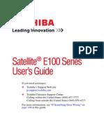 Satellite E100 Users Guide