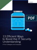 13 Ways to Boost It Security En