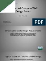 RC wall design