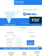 All About GST in India by Enterslice