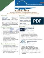 Resume Prakhar Omar