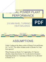 Heat Balance & Thermal Power Plant Performance(Mdt)