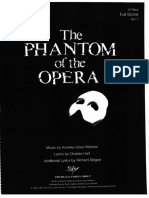 Phantom of the Opera score
