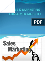 Sales & Marketing- Consumer Mobility