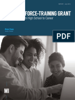 The Workforce-Training Grant