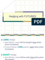 Hedging With FUTURES
