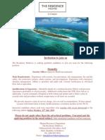 Job Advert - 16 July 2019 - Job Maldives