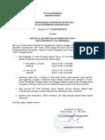 Pemberitahuan Jam Kerja Bulan Ramadhan 1440 H Bagi Pegawai PT PLNqe.pdf