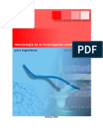 Metodologia de La Investigacion Cientifica Para Ingenieros Manual Borja s. 2012