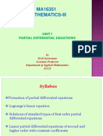 Unit 1 Partial Differential Equations Ppt